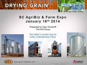 drying grain image presentatin