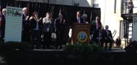 North Carolina Governor Speaks at Ag Appreciation Day