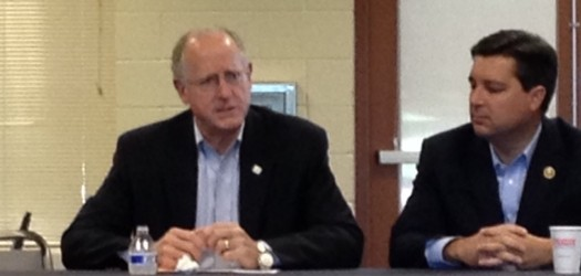 North Carolina's 7th district representative, David Rouzer hosted House Ag Committee Chair Mike Conaway on Monday in Raleigh in a round-table discussion...