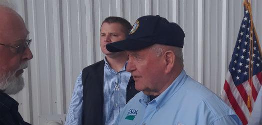 Perdue Applauds the Carolina Farmer