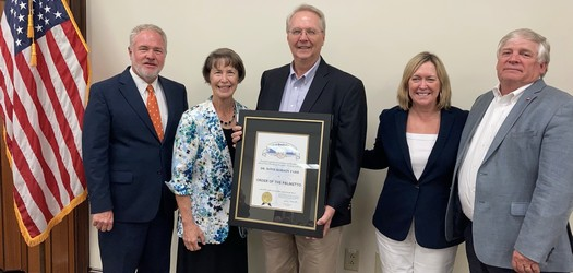 Retired SC State Veterinarian Awarded Order of the Palmetto